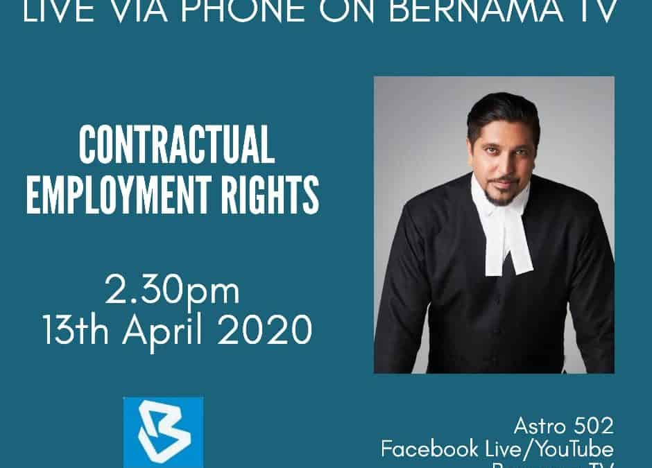 Bernama TV – The Nation Update 13th April 2020